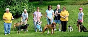 CPR dog walkers