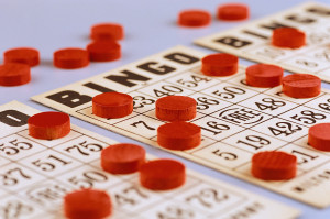 Bingo Cards and Chips