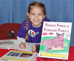 Ansley at one of her many book signing events